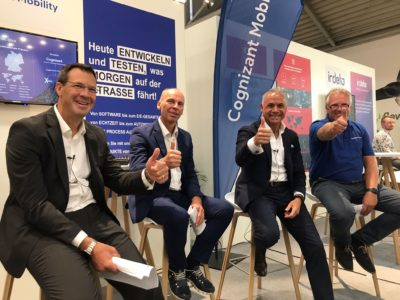 Cognizant Mobility auf der IAA 2021